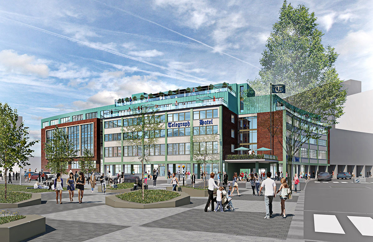 Exciting plans to transform Coventry Telegraph building into a 1950-style boutique hotel